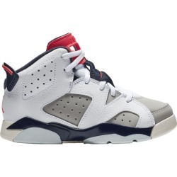 Jordan Retro 6 Basketball Shoes - White / Infrared 23 Neutral Grey Sail found on MODAPINS from Eastbay Athletic SportSource for USD $80.00