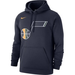 Nike NBA Club Fleece Pullover Hoodie - Utah Jazz - College Navy, Size One Size