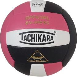 Tachikara SV-5WSC Volleyball - Pink / White / Black