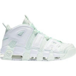 Womens Nike Air More Uptempo - Barely Green/White