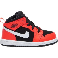 Jordan AJ 1 Mid Basketball Shoes - Black / Infrared 23 White found on MODAPINS from Eastbay Athletic SportSource for USD $44.99