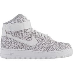 d5ff03a9192 Womens Nike Air Force 1 High - White White White Black Total