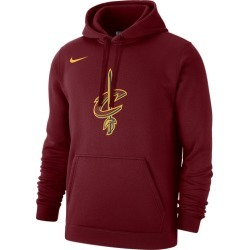 Nike NBA Club Fleece Pullover Hoodie - Cleveland Cavaliers - Team Red, Size One Size