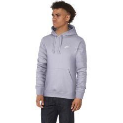 Nike Club Pullover Hoodie - Lavender Mist / White, Size One Size