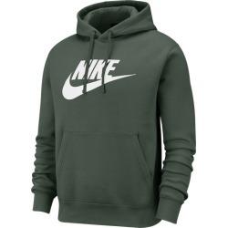 Nike GX Club Hoodie - Galactic Jade / Ember Glow, Size One Size