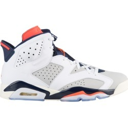 Jordan Retro 6 Basketball Shoes - White/Infrared 23/Neutral Grey found on MODAPINS from Footaction.com for USD $154.99