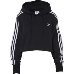adidas Originals Adicolor Cropped Hoodie - Black, Size One Size