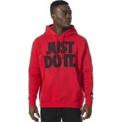 Nike JDI + Mix Pullover Hoodie - University Red / Black, Size One Size
