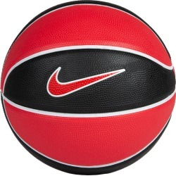 Nike Mini Basketball - Black/White/Red