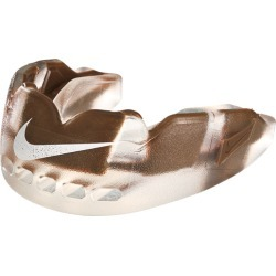 Nike Pro Hyperflow Mouthguard With Flavor - Chocolate-Clear / Fauna Brown White
