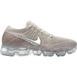 Womens Nike Air VaporMax Flyknit - String/Chrome/Grey