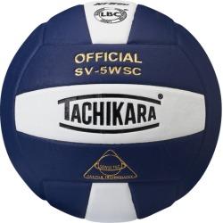 Tachikara SV-5WSC Volleyball - Navy / White / Silver