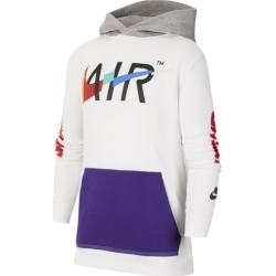 Nike Game Changer Club Hoodie - White / Purple / Red, Size One Size