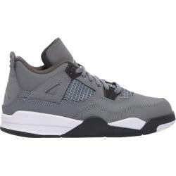 Jordan Retro 4 Basketball Shoes - Grey