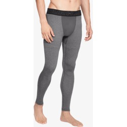 Under Armour ColdGear Armour Compression Tights - Charcoal Light Heather / Black, Size One Size