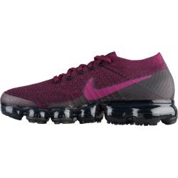 Womens Nike Air VaporMax Flyknit - Bordeaux/Tea Berry/Black/Anthracite