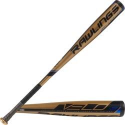 Rawlings Velo BBCOR Baseball Bat - Gold / Black, Size One Size