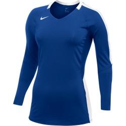 Nike Team Vapor Pro Long Sleeve Jersey - Royal / White