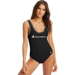 Champion Bodysuit - Black / White