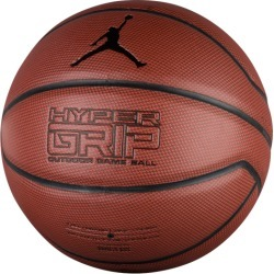 Jordan Hyper Grip Basketball - Dark Amber / Black