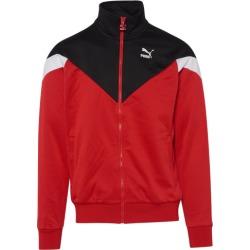 PUMA Iconic MCS Track Jacket - Black / High Risk Red, Size One Size