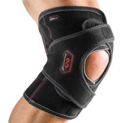 McDavid Vow Knee Wrap w/ Stays - Black, Size One Size found on Bargain Bro Philippines from Eastbay Athletic SportSource for $38.99