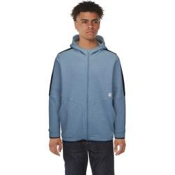 Under Armour Recover Fleece Full Zip Hoodie Sweatshirt - Ash Grey / Metallic Silver