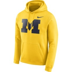 Nike College Team Club Pullover Hoodie - Amarillo, Size One Size