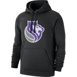 Nike NBA Club Fleece Pullover Hoodie - Sacramento Kings - Black, Size One Size