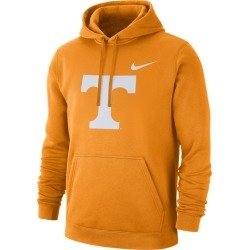 Nike College Team Club Pullover Hoodie - Tennessee Volunteers - Bright Ceramic, Size One Size