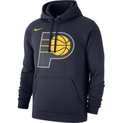 Nike NBA Club Fleece Pullover Hoodie - Indiana Pacers - College Navy, Size One Size