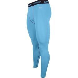 Eastbay EVAPOR Core Compression Tight 2.0 - Columbia Blue / Grey, Size One Size