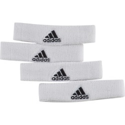 adidas Interval 3/4-inch Bicep Bands - White / Black