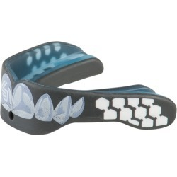 Shock Doctor Gel Max Power Mouthguard - Black / Chrome Teeth