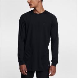 Nike AF1 Long Sleeve Top - Mens - Black/Black/Black