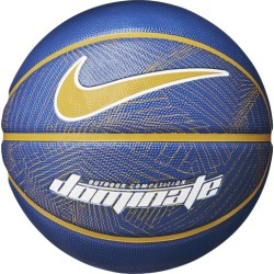 Nike Dominate Basketball - Game Royal / University Gold White