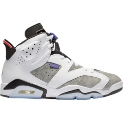 Jordan Retro 6 Basketball Shoes - White / Dark Concord Black Infrared 23 found on MODAPINS from Eastbay Athletic SportSource for USD $159.99