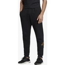 adidas Athletics Sport ID Metallic Jogger Pant - Black / Metallic Gold, Size One Size