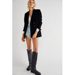 Suede Blazer by Blank NYC at Free People, Full Moon, M found on MODAPINS from Free People for USD $198.00