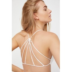 Strappy Back Bra by Intimately at Free People, White, M/L found on Bargain Bro India from Free People for $20.00