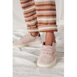 Gola Super Court Suede Sneakers by Gola at Free People, Blossom / Khaki, US 7 found on MODAPINS from Free People for USD $90.00
