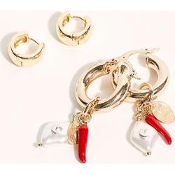 Souvenir Hoop Earring Set by Free People