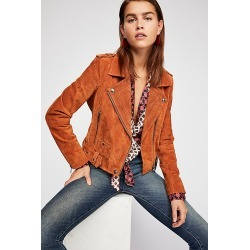 Suede Moto Jacket by Blank NYC at Free People, El Dorado, XS found on MODAPINS from Free People for USD $198.00