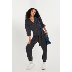 Puffed Up Jumpsuit by Blank NYC at Free People, Lief Of The Party, XS found on MODAPINS from Free People for USD $128.00