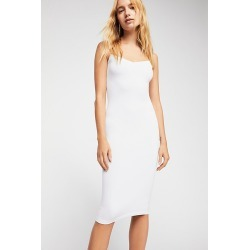 Tea Length Seamless Slip by Intimately at Free People, White, XS/S found on Bargain Bro Philippines from Free People for $34.00