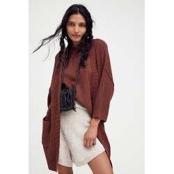 Upstate Cardigan by Free People, Star Anise, XS