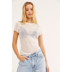 Mesh Crew Tee by Intimately at Free People