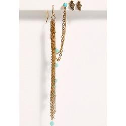 Chain Drape Stud Earring Set by Free People