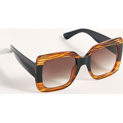 Sugar Oversized Square Sunglasses by Free People