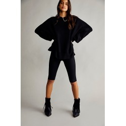 Easy Street Tunic by Free People, Black, XS